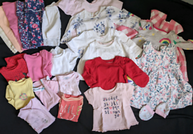 summer baby girl's bundle clothing cloths 0 3 months newborn