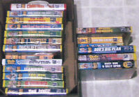 VHS for Children: 3 boxed sets & 21 individuals & 2 Bratz DVDs