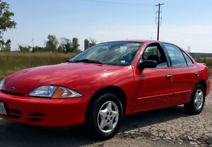 2002 Cavalier Excellent car inside & out $2500 Cert & E tested