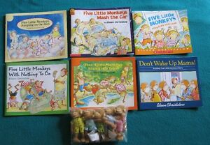 Five Little Monkeys Book Collection
