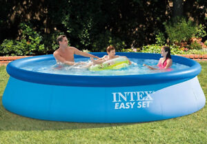 "SORRY SOLD INTEX 12 ' X 30""Above Ground  Family  Swimming Pool"