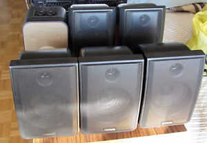 6 Recoton Wireless Speakers by Advent