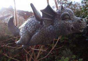 Gartendrache fliegt Drache Figur
