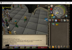 OldSchool Runescape and Runescape 3 : BUY-SELL/ ACHAT-VENTE