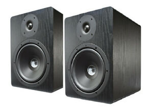 "Resident Audio NF80  8"" Active Studio Monitors – Pair"