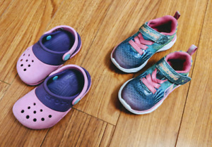 Toddler Girl Shoes (Size 6)