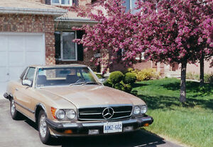 1980 Mercedes Benz – 450 SL Roadster