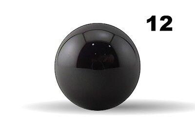 Twelve 332 Inch G5 Precision Si3n4 Silicon Nitride Ceramic Bearing Balls
