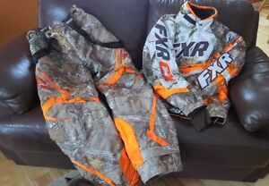 FXR SNOWMOBILE JACKET AND PANTS FOR SALE