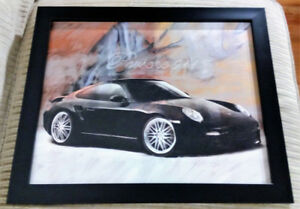 PORSCHE 911 PICTURE WITH FRAME