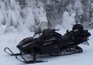 Motoneige Arctic Cat T660 - turbo