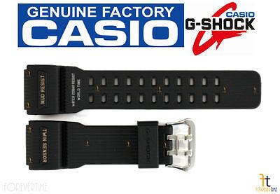 CASIO G-SHOCK Mudmaster GG-1000-1A Original Black Rubber Watch Band Strap