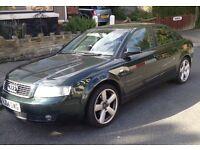 Audi A4 2.0 LPG Petrol Green 2004