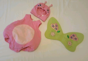 Toddler Butterfly Halloween Costume (Size 12-18M)
