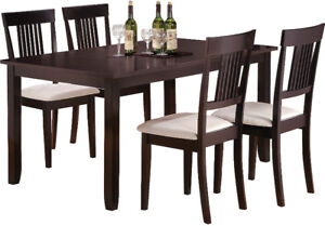 Nicole 5 Piece Dining Set - Must Go (Weekend Special)