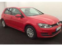 2013 VW GOLF 1.6 TDI S GOOD / BAD CREDIT CAR FINANCE AVAILABLE