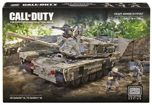 Mega Bloks Call of Duty HEAVY ARMOR OUTPOST 726Pcs Collector Set