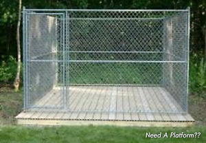 8ft x 8ft Outdoor Dog Kennel