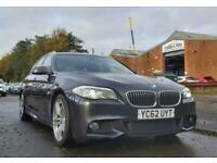 2012 BMW 5 Series 3.0 530D M SPORT TOURING 5d 255 BHP Auto Estate Diesel Automat