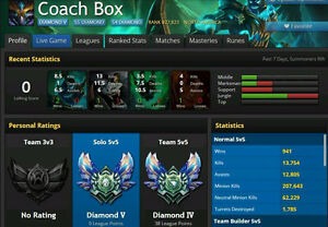 *PRICE NEGOTIABLE* Diamond 5 Account, Many Skins, Many Champs