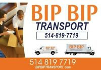 BIPBIPTRANSPORT.com  514-819-7719 local et longue distance!!!
