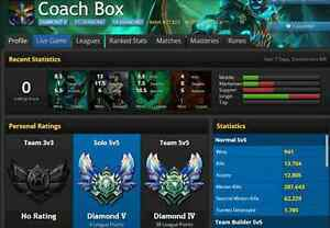 Diamond 5 Account, Almost all champions, Many skins