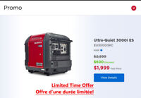Honda EU3000iSKC Generator Sale $600 Off Stratford Kitchener Area Preview