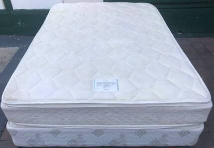 Good  Sealy Brand queen bed mattress+Base for sale. Delivery avai