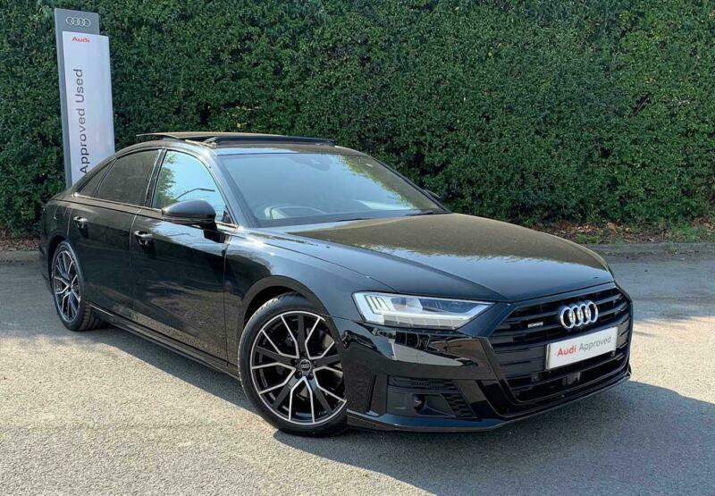 Audi A8 2020 50 TDI Quattro Black Edition 4dr Tiptronic ...