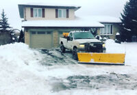 Snow removal- ice control