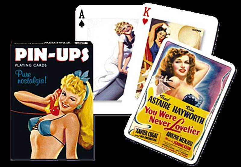 Pin Ups set of 52 playing cards + jokers (gib)