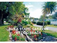 Static Caravan Holiday Homes For Sale on Family Run Park near Towyn North Wales