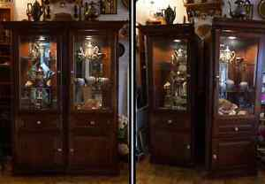 2 PCS Display Cabinet - Excellent Quality