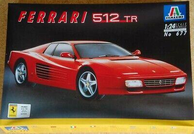 1/24Italeri - Ferrari512 TR - Plastic Model Kit