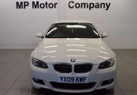 2009 09 BMW 3 SERIES 3.0 325I M SPORT 2D 215 BHP 2DR 6SP COUPE, WHITE, 65,000M