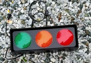Stoplights for garage