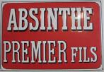Absinthe premier films Emaille bord