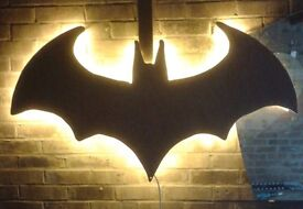 Wall mounted Light up Batman