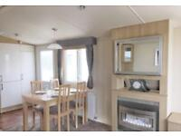2 Bed Static Caravan disabled access ramp and decking included 12 month park