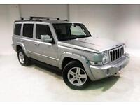 2009 59 JEEP COMMANDER 3.0 LIMITED CRD V6 5D AUTO 215 BHP DIESEL
