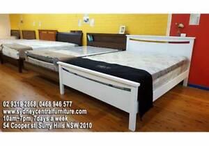 New Comfortable Mattress & Modern Bed Frame Base