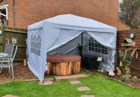 NEW Steel Popup 3x3m Gazebo Marquee Canopy – £130 each