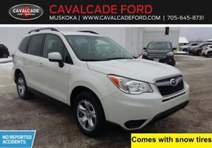 2016 Subaru Forester 2.5i AWD, backup cam, htd front seats!!