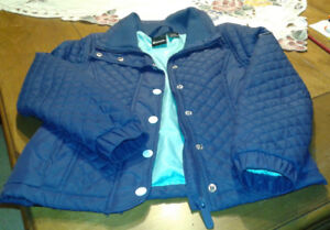 Girls quilted Bench coat