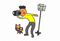 Recherche Caméraman Pigiste – Search Freelance Cameraman