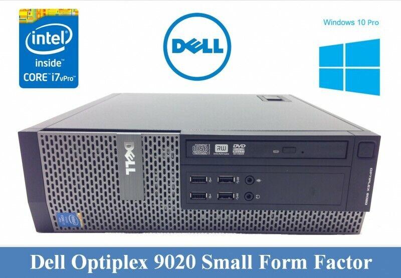 Computer Games - Dell OptiPlex 9020 SFF Core i7 Quad 4th Gen 8GB 500GB GAMING PC COMPUTER Desktop