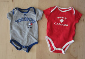 Made in Canada onsie, size 6 - 9m