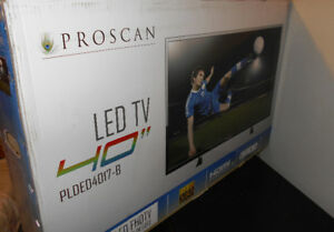 "40"" LED 1080P TV New Tested and Works Great $280 or Trade"