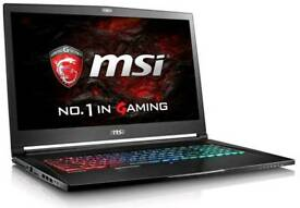 Msi GS73VR 4K LAPTOP