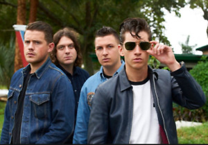 2Arctic Monkeys Tickets, Lower Level, Section S, Row 6, seat 8/9